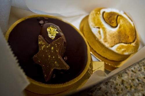 Chocolate & Lemon tart from Bouchon Bakery, Yountville