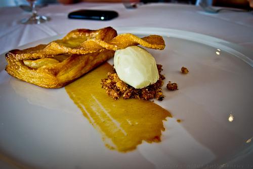 Redd Restaurant, Yountville - Apple dessert