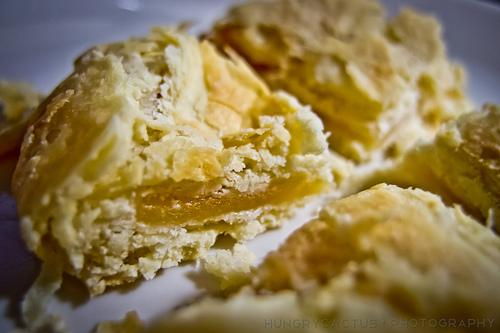 Taiwanese dessert: Sun Cake