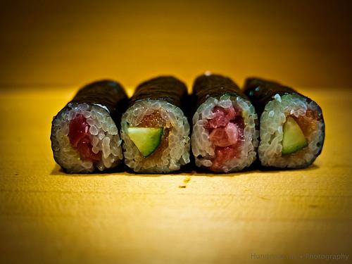 Sushi Dai - cod roe sushi